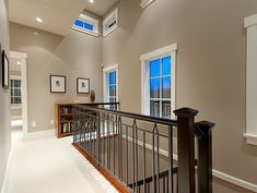 Wall color = Sherwin Williams Outer Banks = LOVE!