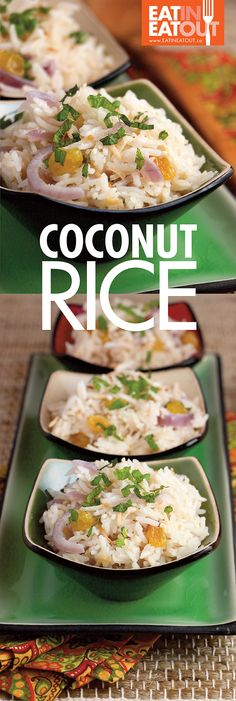 This Coconut Rice be