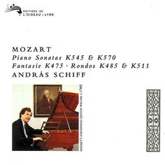 Mozart: Piano Sonatas Nos. 16 & 17 & Other Piano Works de András Schiff