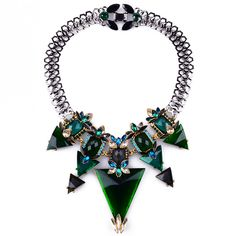 Emerald Crystal Design Choker Necklace sold by FLYASFK. Shop more products from FLYASFK on Storenvy, the home of independent small businesses all over the world.