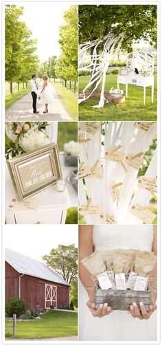 rustic elegance wedding inspiration