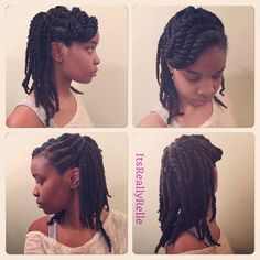 Two strand twists @itsreallyrelle