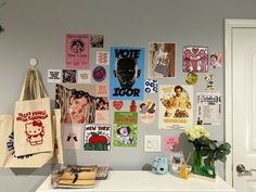Study Room Decor, Room Ideas Bedroom, Bedroom Inspo, Hippy Room, Indie Room Decor, Otaku Room, Retro Room, Pastel Room, Cute Room Ideas