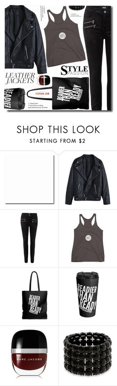 """Style pasion"" by soks ❤ liked on Polyvore featuring Paige Denim, Marc Jacobs and Erica Lyons"
