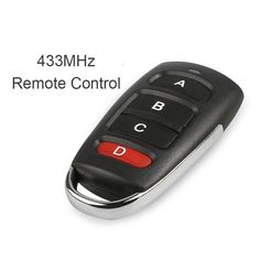 Access Control 315mhz Electric Garage Door Remote Control Key Fob 4 Buttons Touch Switch Copying Transmitter Cloning Duplicator Garage Opener Attractive Appearance Security & Protection