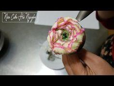 Hướng Dẫn Bắt Hoa Mẫu Đơn Với Kem Bơ Hàn Quốc - How to pipe a Closed Peony with Korea Buttercream - YouTube