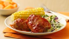 Slow-Cooker Saucy Orange-Barbecued Chicken and lots of other good summer slow cooker recipes