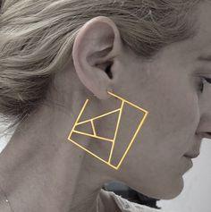 "230 Likes, 5 Comments - Jewelry Blog (@tliketwinkle) on Instagram: ""When an architect designs jewelry... Follow —> @katia_vamvaka #earrings #jewelry #jewellery…"""