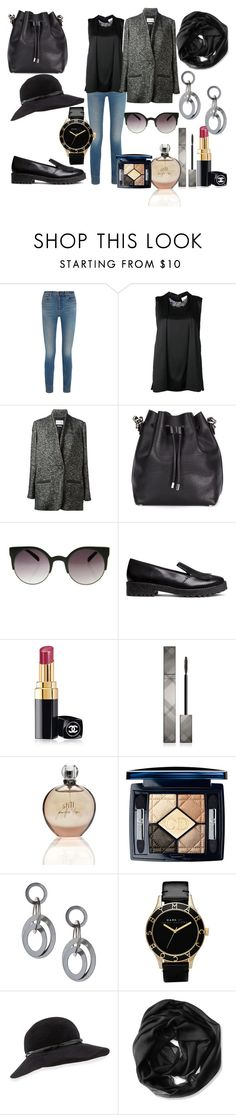 Untitled #506 by sandrine-pereira on Polyvore featuring 3.1 Phillip Lim, Étoile Isabel Marant, Alexander Wang, H&M, Proenza Schouler, Marc by Marc Jacobs, Calvin Klein, Eric Javits, INDIE HAIR and Burberry