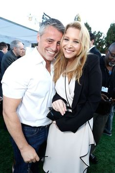 Joey & Phoebe reunited