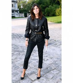 Tip 3: Put A Belt On It   Black is already slimming, but why not multiply the effect by belting your onyx-hued ensemble to define your waist? Vogue Paris Editor-In-Chief, Emmanuelle Alt, had the...