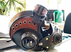 Steampunk Armor Steampunk Goggles Steampunk Leather Mask | Etsy