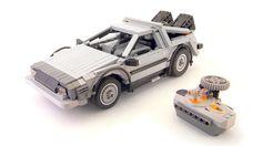 Modelo del DeLorean de Volver al Futuro!