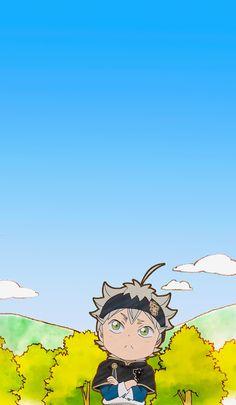 Petit Clover | Wallpaper Watch Black Clover, Black Clover Manga, Chibi Wallpaper, Cover Wallpaper, Black Clover Wallpaper, Manga Anime, Anime Art, Otaku, Fairy Tail Comics