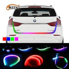Compare Prices Okeen Car Styling Rgb Undercarriage Floating Led Dynamic Streamer Turn Signal Tail