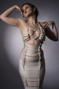Shibari Rope Dress
