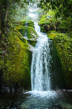 Eerie Waterfall - Wall Mural & Photo Wallpaper - Photowall