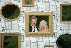 A vintage chic wedding.. more then possible but so cool