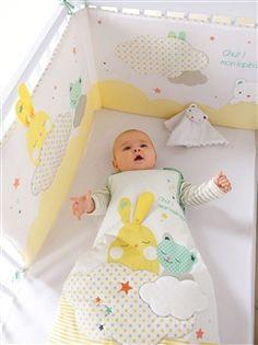 e87e68d4e203 Tour de lit spécial éveil bébé thème Colorami - vertbaudet enfant Одеяла  Для Новорожденной Девочки,