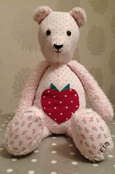 Memory Bear Teddy Bear, Toys, Crafts, Animals, Products, Plushies, Activity Toys, Manualidades, Animales
