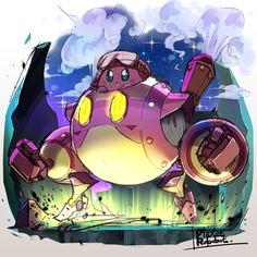 ocean-b0y - Planet Robobot Kirby byなおかど