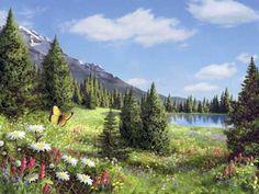 Сказочный мир Алана Гиана