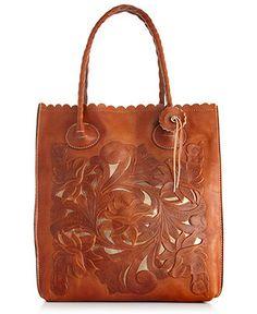Patricia Nash Handbag, Tooled Cavo North South Tote - Patricia Nash - Handbags & Accessories - Macy's