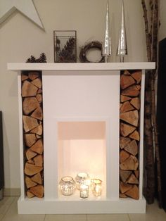 Kamin on pinterest fireplaces mantels and faux fireplace for Dekokamin ikea