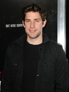 Pin for Later: Sunday Sure Was Sweet For These First-Time Fathers John Krasinski John became a dad for the first time in February when he and wife Emily Blunt welcomed daughter Hazel. John Krasinksi, Baby Hazel, Jason Sudeikis, Jim Halpert, Father John, My Generation, Cute Actors, Emily Blunt, Jimmy Fallon