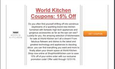 Brought to you by http://www.imin.com and http://www.imin.com/store-coupons/world-kitchen/