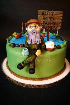 Duck dynasty birthday cake. Camo cake! Cakes by Bri & hunting fishing cake decorating ideas | Cake Chic: hunting camo ...