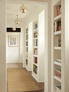 hallway built-ins / bookcases