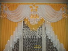 No Sew Curtains, Home Curtains, Kitchen Curtains, Valance Curtains, Luxury Curtains, Elegant Curtains, Curtain Styles, Curtain Designs, Classic House Exterior