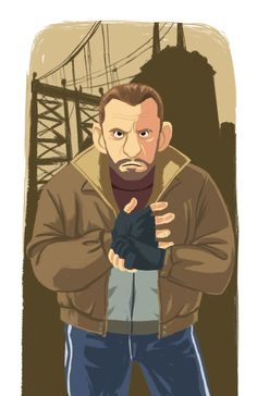 niko bellic Grand Theft Auto 4, Gta, Movie Posters, Movies, Fictional Characters, Digital Illustration, Style, 2016 Movies, Film Poster