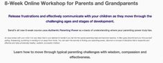 Tonight is week 3 of our 8 week online parenting course! It's not too late to join us, register by clicking through the pin. **All webinars are recorded so you can join us live or listen back at your convenience**