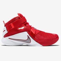 official photos 6b172 4081d Nike LeBron Soldier 9 OSU Zapatillas Nike Jordan, Zapatillas De Baloncesto,  Botas Deportivas,