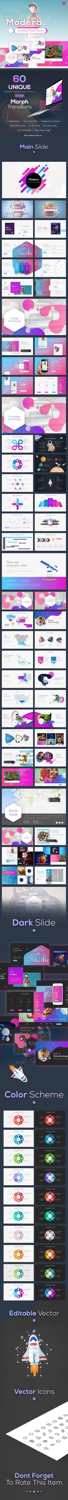 #Modera - #Creative #Presentation - Business PowerPoint Templates