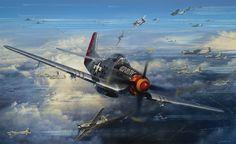 John Shaw Aviation Art: Ramrod - Outward Bound
