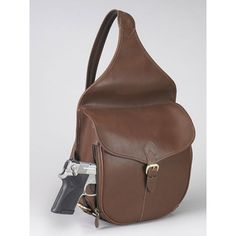 Saddle Shoulder Bag Concealed Carry Purse