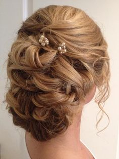 51 prom hair updos specially for you pinterest prom hair updos bridal hair pins champagne ivory hair piece silver by element4you junglespirit Choice Image