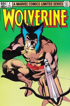 Wolverine original Chris Claremont and Frank Miller mini-series, issue #4 (conclusion)