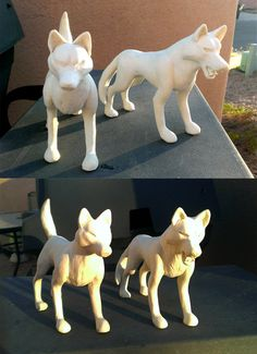 Clay Wolves by Sedillio