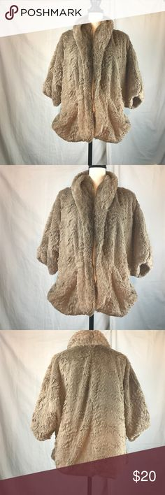 JOIT Faux Fur JOIT Faux Fur. Great condition. Gently worn. Non smoking home! Size M. See photos. Joit Jackets & Coats