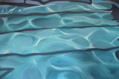 Pool Reflection by Marie Freudenberger on Artfully Walls