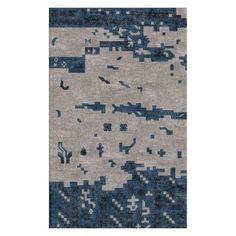 Surya Rustic RUT70 Indoor Area Rug Teal - RUT702-3353, SYR4012-13