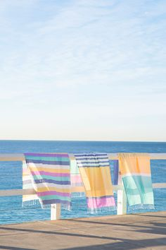 Beautiful beach blankets