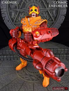 MOTUC original character Carnox the Cosmic Enforcer custom figure
