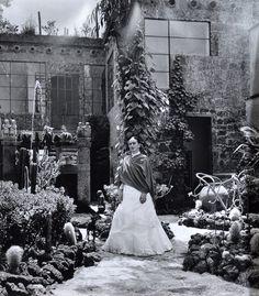 Frida s'entourait de plantes et les photos de son jardin au Casa Azul, près de Mexico City témoignent clairement son amour pour les plantes indigènes.