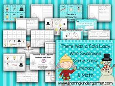 SNOW Much Fun... kindergarten snowman learning activities