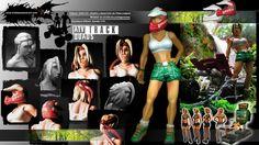 Modelado arcilla protagonista - clay modeling - GAELCO